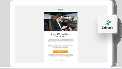 Drivania - PSD to Email Template Portfolio