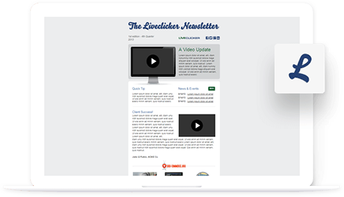 The Livelicker Newsletter - PSD to Email Template Portfolio