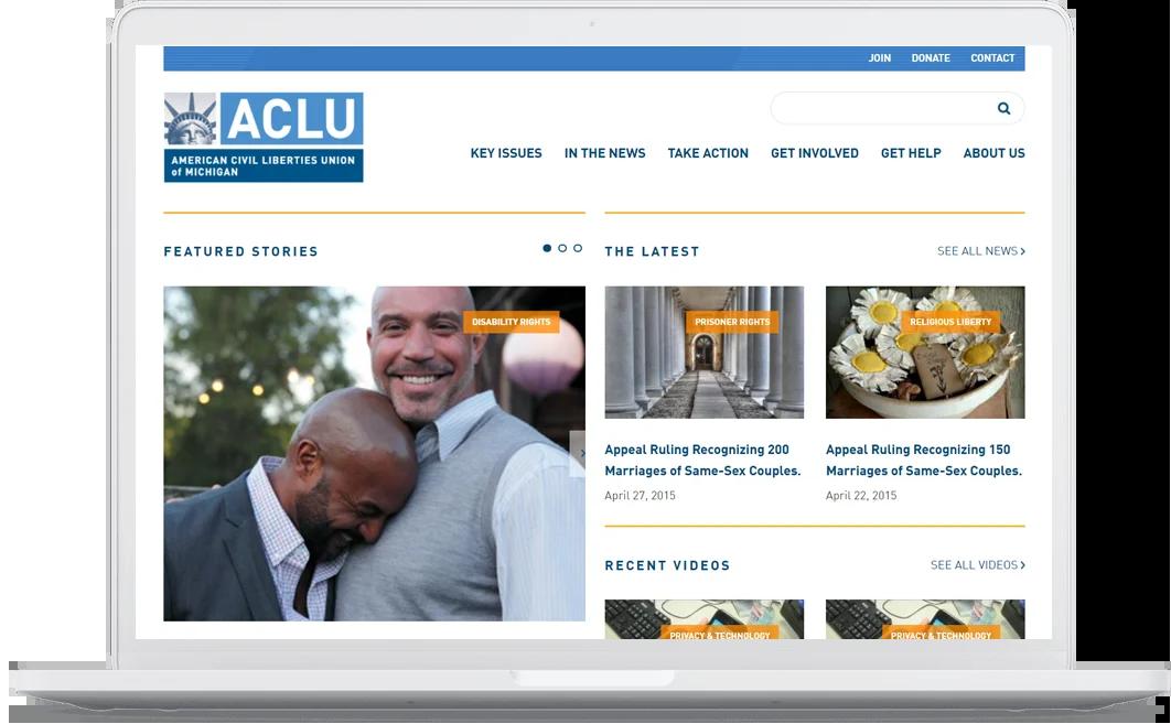 ACLU Laptop