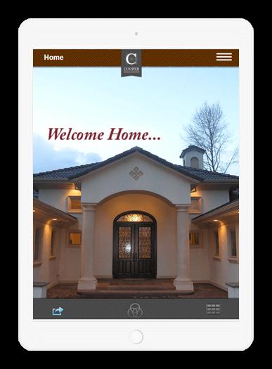Cooper Design Builders iPad