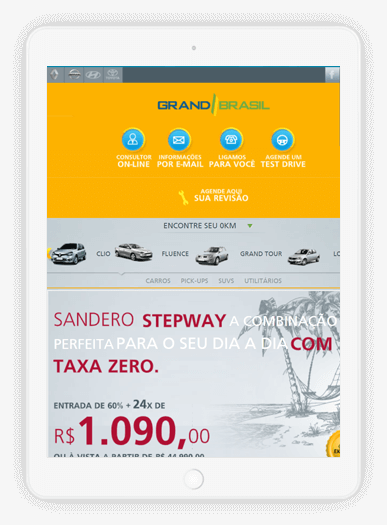 Grand Brasil iPad