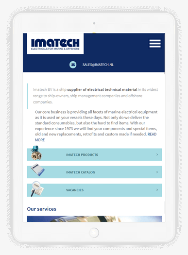 Imatech iPad