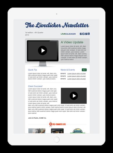 Liveclicker News iPad