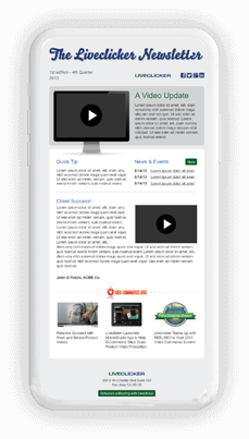 Liveclicker News iphone