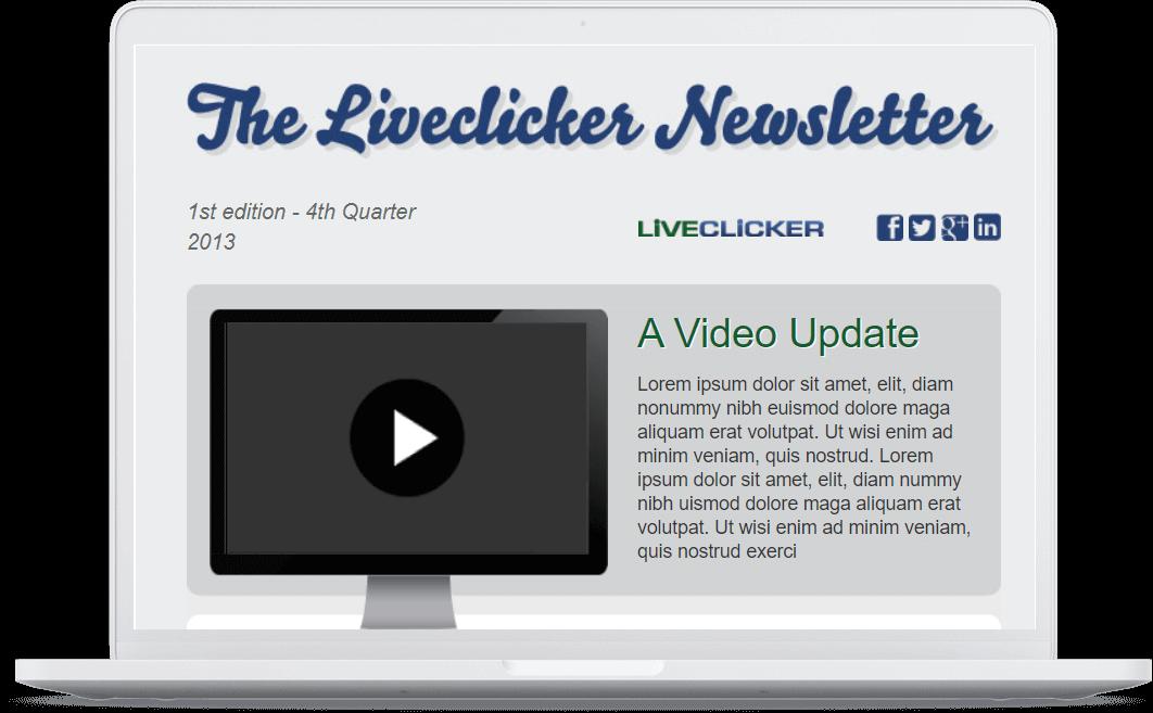 Liveclicker News Laptop