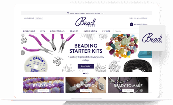 Bead House - Magento Development Portfolio