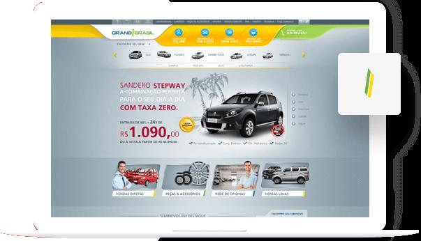 Grand Brasil  - Responsive Website Development