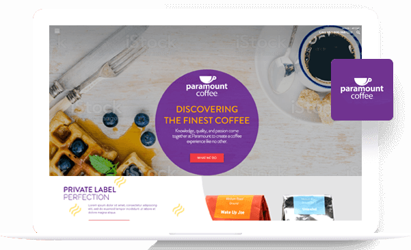 Paramount Coffee - Magento Development Portfolio