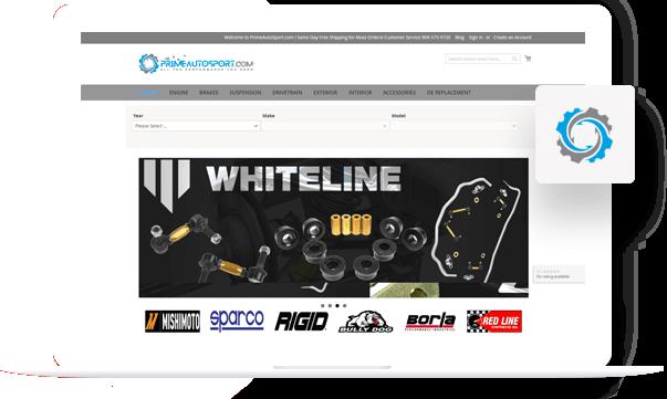 Prime Autosport - PSD to Shopify Portfolio