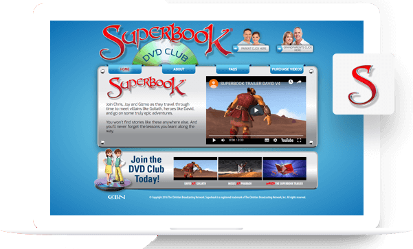 Superbook - PSD to Drupal Portfolio
