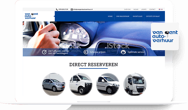 Van Gent Car Rental -  Shopify Development Portfolio