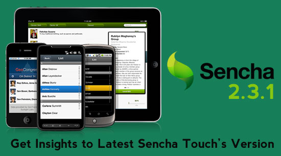 sencha 2.3.1 mobile development
