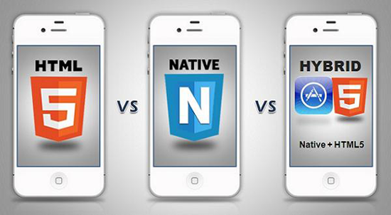 HTML5 Vs Native Vs Hybrid Apps