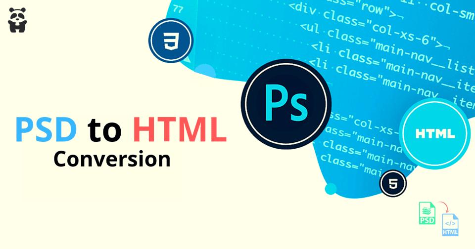 PSD to HTML Services - HTMLPanda