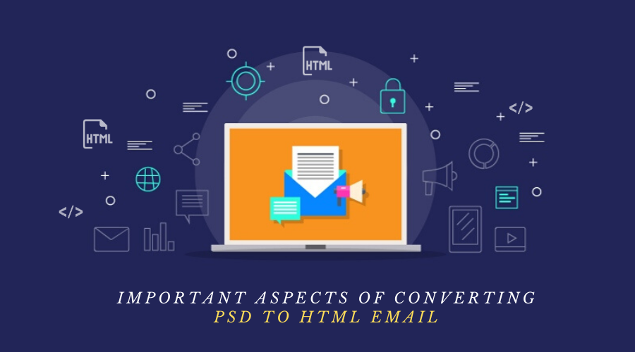 Aspects of Converting PSD to HTML Email - HTMLPanda
