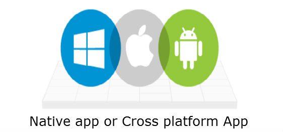 Native app or Cross platform App