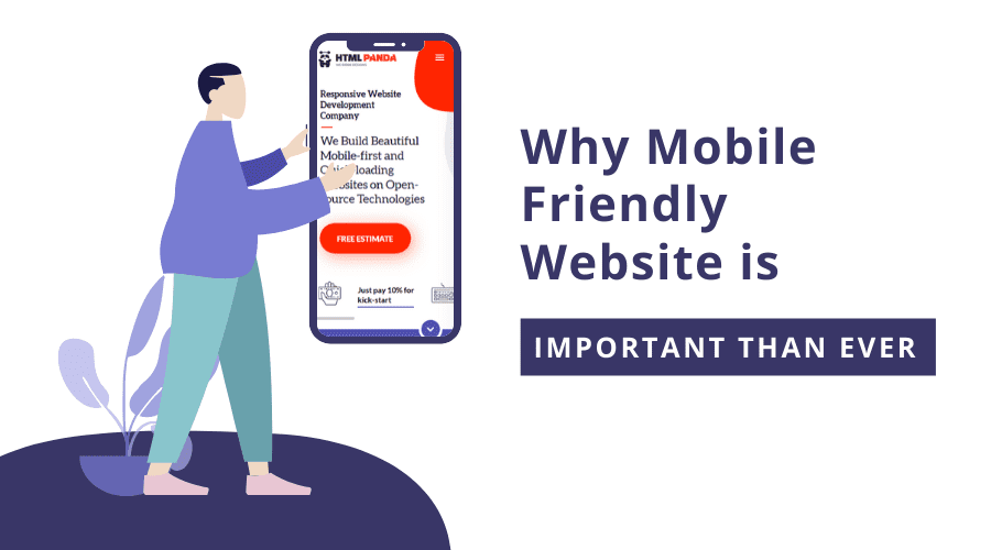 Mobile-Friendly Website - HTMLPanda