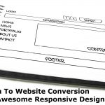 Sketch To Website Conversion With Awesome Responsive Design
