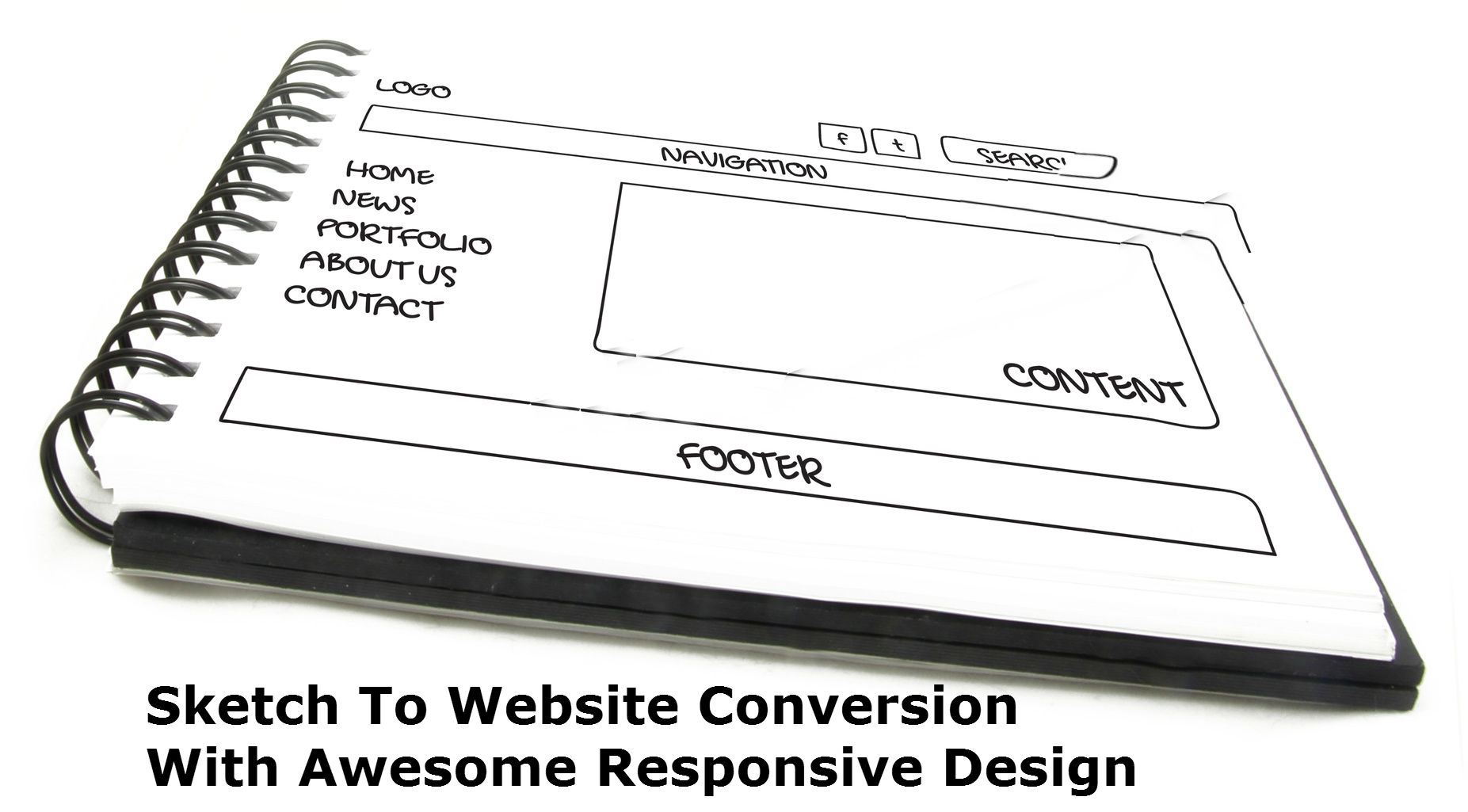 Sketch To Website Conversion