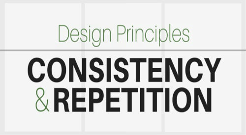 Maintain consistency in design