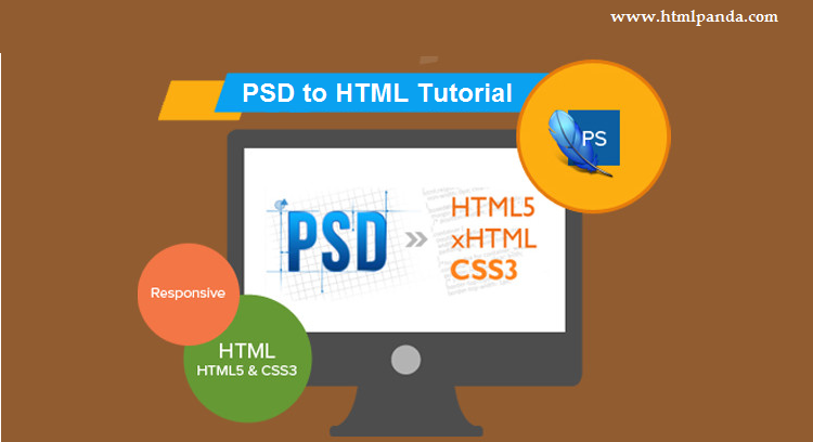 PSD to HTML Tutorial
