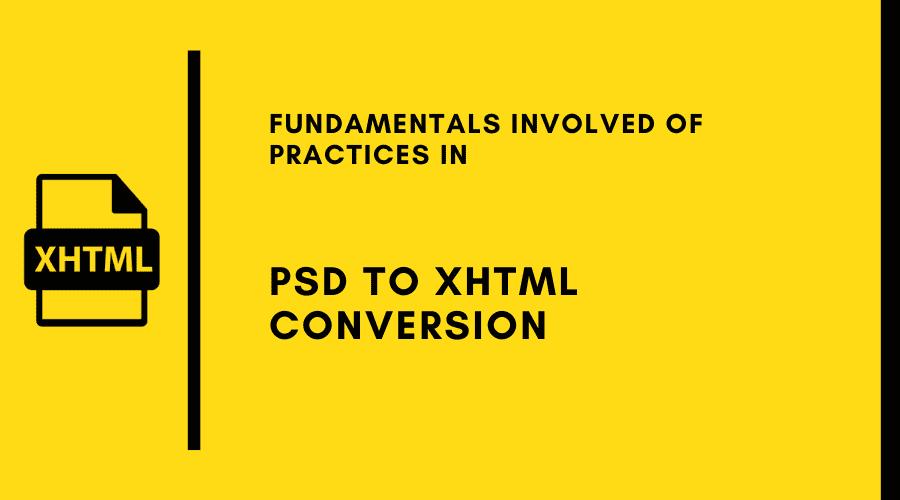 PSD to XHTML Conversion - HTMLPanda