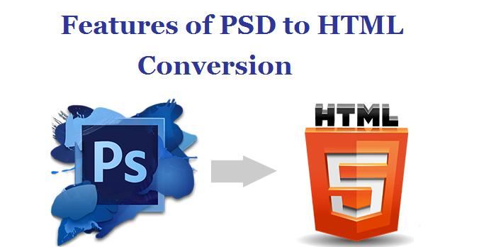 PSD to HTML Conversion