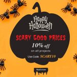 Scary Halloween: 10% off on all New Web Development Projects