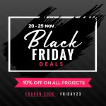 Amazing Black Friday: 10% off on all New Web Development Projects