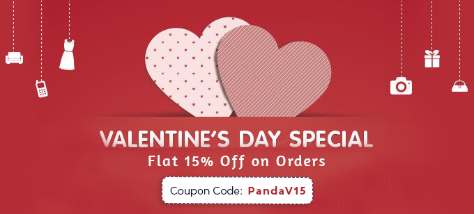 15 discount offer valentines day