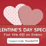 Flat 15% Valentine's Day Discount on Design to Web Conversion Services