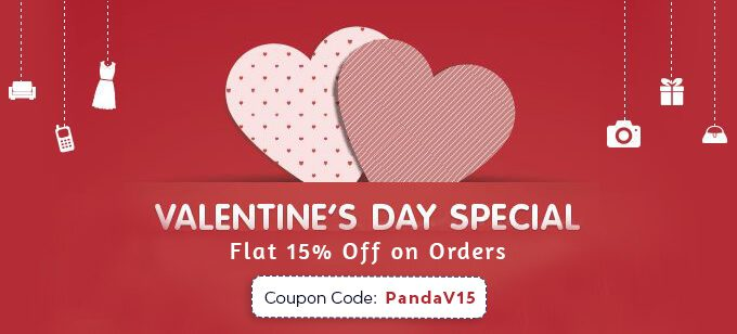 15% Discount Offer Valentines Day