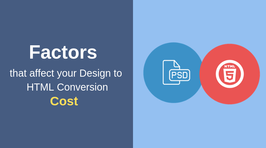 PSD to HTML Conversion Cost