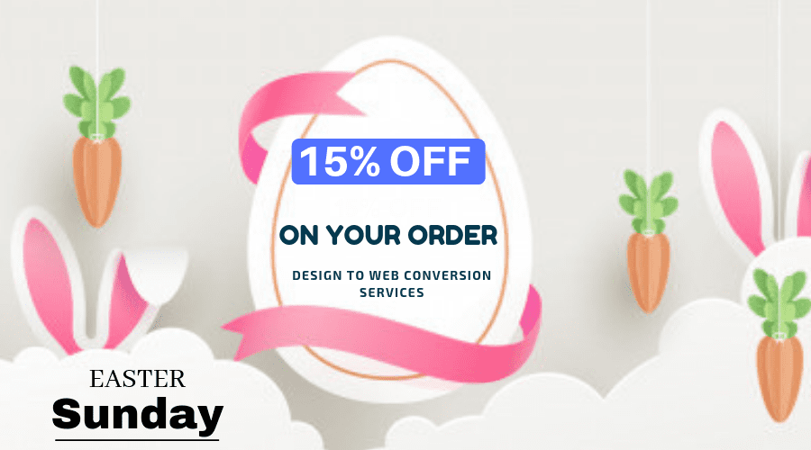 Easter Sunday Offer - HTMLPanda