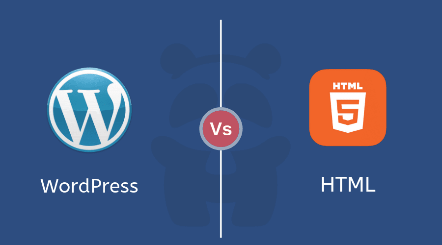 WordPress Vs Static HTML - HTMLPanda