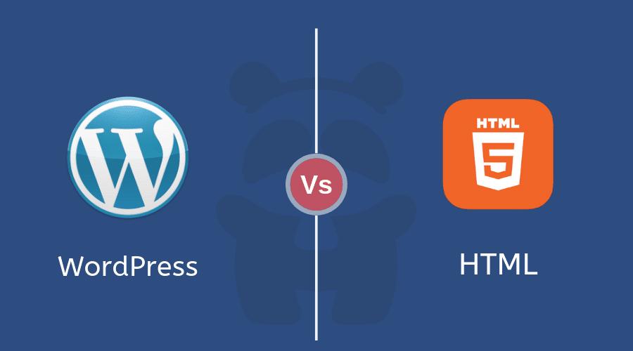 WordPress Vs Static HTML - HTMLPanda