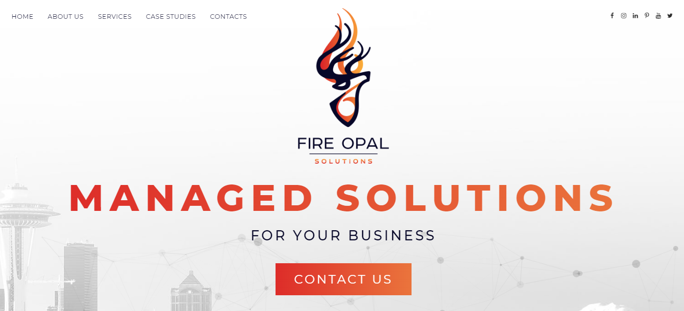 Fire Opal - HTMLPanda