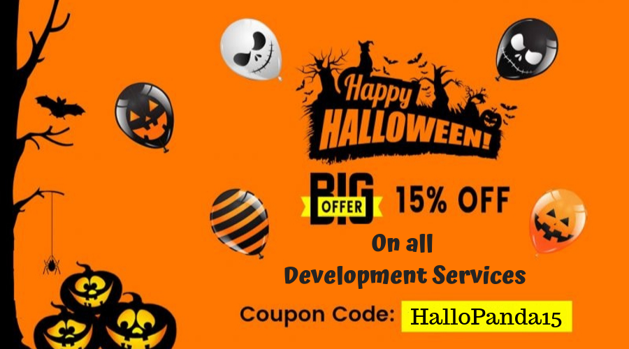 Halloween offer - HTMLPanda