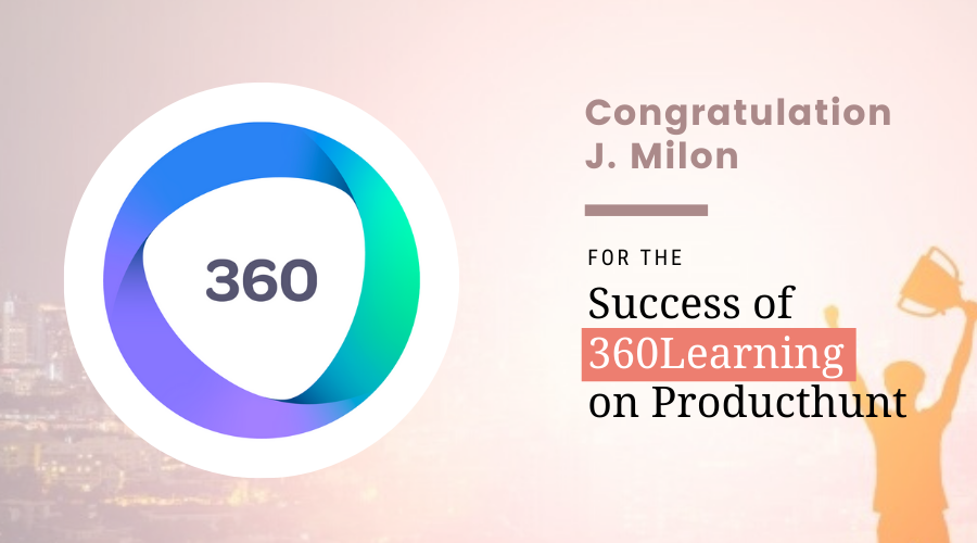 360Learning on Producthunt