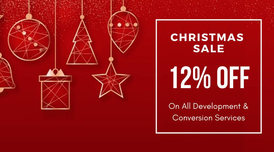Christmas Offer 2019 - HTMLPanda