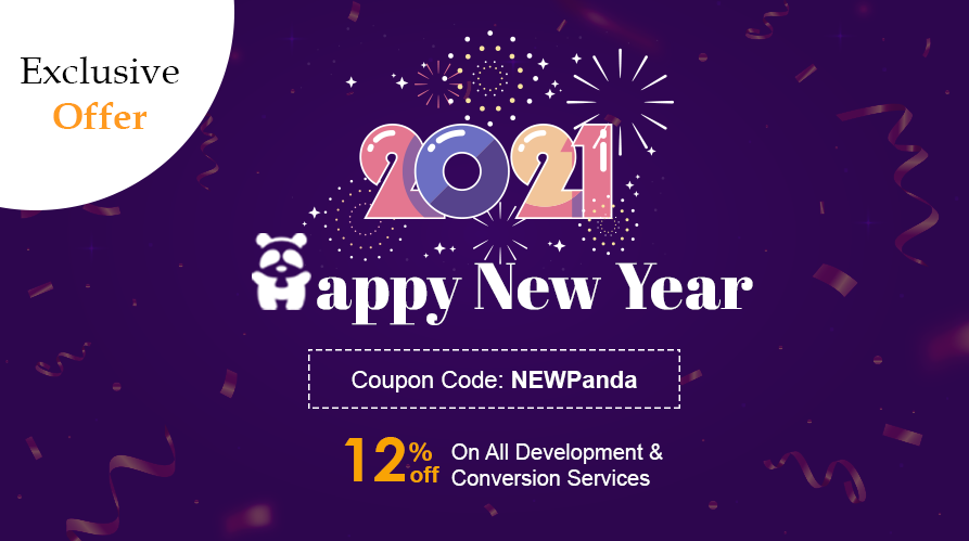 haapy new year offer - HTMLPanda