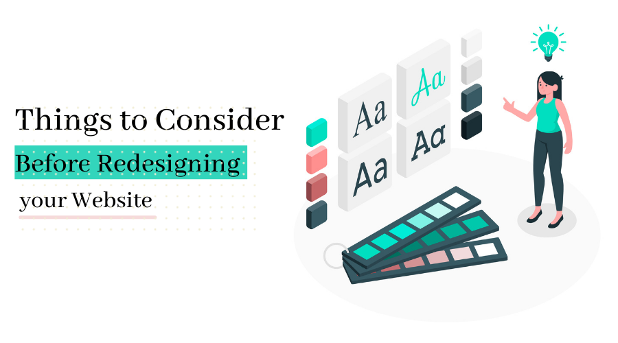 Things to Consider Before Redesigning your Website