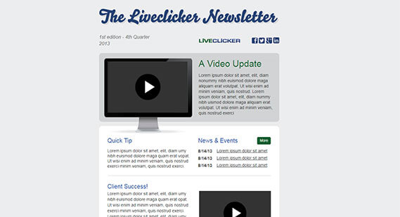 Liveclicker News